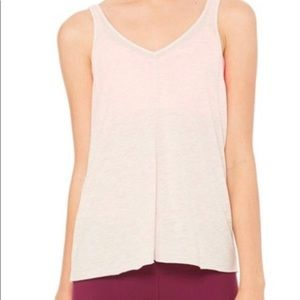 ALO Dusty Rose Tank with Slits